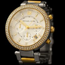 Michael Kors Gold/Steel 39mm Quartz 7238 pre-owned