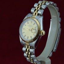 Rolex LADY DATE Stahl/Gold Saphir Glas, Datumschnellschaltung