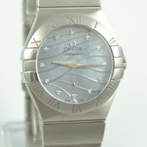 Omega Constellation Quartz 123.10.27.60.57.001 Nové Ocel 28mm Quartz