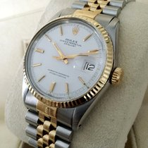 Rolex Oyster Perpetual Datejust Gold Steel White Dial 36 mm...