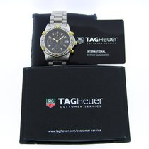TAG Heuer 2000 Gold/Steel 40mm Black