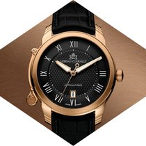 Lebeau-Courally Rose gold 43mm Automatic LC06-11-C4-D01 new
