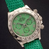 Rolex Daytona 116519 Beach Green Chrysoprase Dial Box And Papers