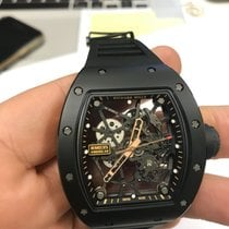 Richard Mille RM 035 RM035 Très bon Or rose 48mm Remontage automatique
