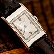 Vacheron Constantin Gentlemans Watch Stainless Steel Bj-1936