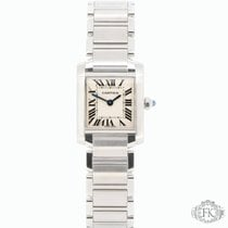 Cartier Tank Française| Ladies Stainless Steel | W51008Q3