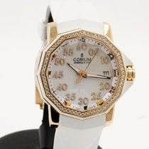 Corum Admirals Cup Competition 40mm in Rose Gold with Diamond...