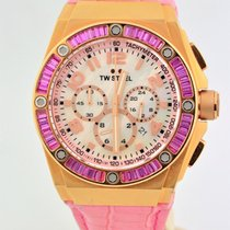 TW Steel Kelly Rowland Edition Chrono Pink Rose Stainless...