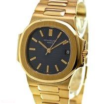 Patek Philippe NAUTILUS Man Size Ref-3800-1 18k Yellow Gold...