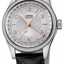 Oris Steel 40mm Automatic Big Crown Pointer Date new