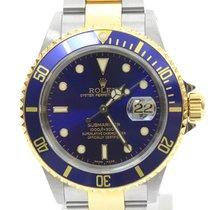 ロレックス Rolex Submariner Date 16613 Blue dial