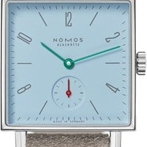 NOMOS Tetra Steel 29.5mm Blue United States of America, New York, Airmont