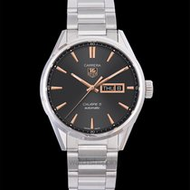 TAG Heuer Carrera Calibre 5 Steel 41mm Black United States of America, California, San Mateo