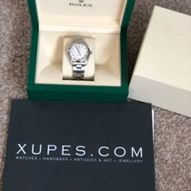 Rolex Oyster Perpetual 34 Steel 34mm Silver No numerals United Kingdom, Manchester