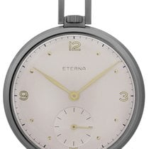 Eterna Watch pre-owned 1942 Steel 46.5mm Arabic numerals Watch only