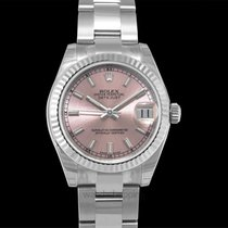 Rolex Lady-Datejust Or blanc 31mm Rose