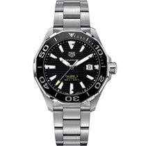 TAG Heuer Aquaracer 300M Steel 43mm Black No numerals United Kingdom, or EU warehouse (see description)