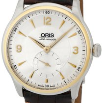 Oris Artelier Small Second Steel 40mm Silver Arabic numerals United States of America, New York, Monsey