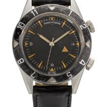 Jaeger-LeCoultre Memovox Tribute to Deep Sea Steel 39mm Black United States of America, New York, New York