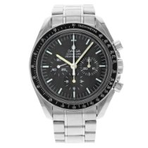 Omega Speedmaster Professional Moonwatch Steel 43mm Black United States of America, New York, New York