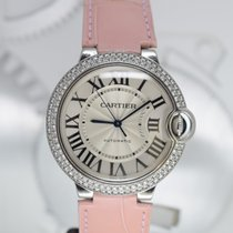 Cartier Ballon Bleu 36mm Oro blanco