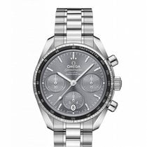 Omega Speedmaster Steel 38mm Grey No numerals