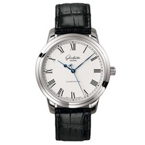 Glashütte Original Senator Automatic Steel 40mm White Roman numerals United States of America, Florida, Miami