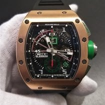 Richard Mille Rosa guld Automatisk RM011-01 ROBERTO MANCINI brugt