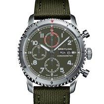 Breitling Navitimer 8 Steel 43mm Green Arabic numerals United States of America, Florida, Boca Raton