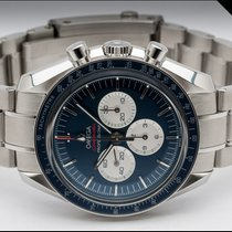 Omega Speedmaster Steel 42mm Blue No numerals Finland, Imatra