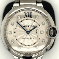 Cartier Ballon Bleu 36mm Steel 36mm Silver Roman numerals
