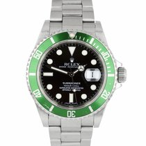 Rolex Submariner Date 16610 LV pre-owned
