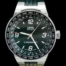 Oris Williams F1 Acier 42mm Noir Arabes