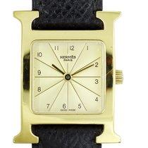 Hermès Heure H Stahl Gold