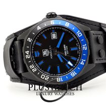 TAG Heuer Formula 1 Calibre 7 pre-owned 43mm Black Leather