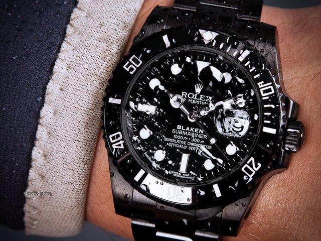 Black Rolex Submariner Price