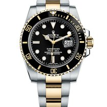 Rolex Submariner Date 40mm Steel and Yellow Gold Ceramic 116613LN