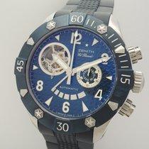 Zenith El Primero Defy Open Blue Ocean 1000 Chronograph...