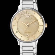 Citizen Steel 31mm Quartz EM0526-88X CITIZEN Donna L 0523 31mm Bicolore new