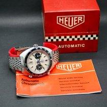 "Heuer Autavia Chronograph ""Jo Siffert"" 1163 mit Box/Papieren 1972"