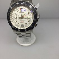 Breitling Skyracer Raven Stainless Steel Mens Watch A2736434...