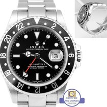 勞力士 2005 Unpolished Rolex GMT-Master II 16710 T Black No Holes...