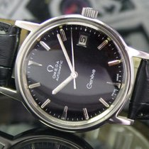 Omega Genève Winding  Date Steel Mens Watch