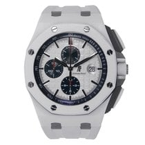 Audemars Piguet Royal Oak Offshore 44mm White Ceramic Watch