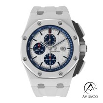 Audemars Piguet Royal Oak Offshore Chronograph Ceramic 44mm Silver No numerals United States of America, New York, New York