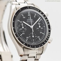 Omega Speedmaster Reduced rabljen 39mm Crn Kronograf Tahimetar