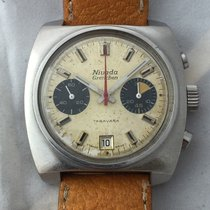 Nivada Vintage Nivada Grenchen Taravana Chronograph Manual...
