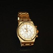 Audemars Piguet Royal Oak Chronograph begagnad 41mm Gulguld