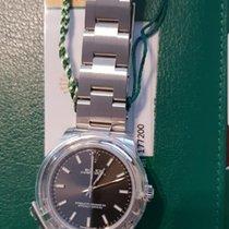 Rolex Oyster Perpetual 31 Acier 31mm Noir Sans chiffres France, Thonon les bains