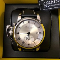 Graham Silver 42mm Automatic 2CXAY.S05A new